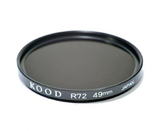 Kood High Quality R720  Infrared Special Effects Filter 49mm Made in Japan